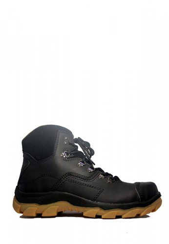 Cut Engineer black Cut Engineer Apple Tactikal Stap Safety Boots Soft Brown E4884SH5AEBCB7GS_1