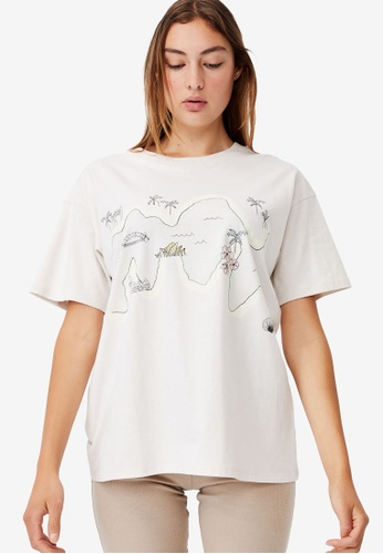 Cotton On white The Original Graphic Tee 0A0F3AA4EA15C5GS_1