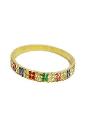 1901 Jewelry multi 1901 Jewelry Rainbow Bangle 19910AC0UE37ID_1