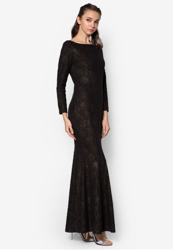 Lace Mzalora taiwan 時尚購物網鞋子ermaid Dress, 服飾, 服飾