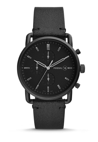 Fossil black The Commuter Chrono Chronograph Watch FS5504 323DFAC2427006GS_1