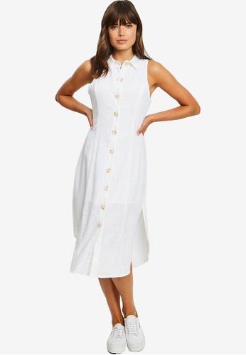 Calli white Mia Shirt Dress A3B0CAA9D637C9GS_1