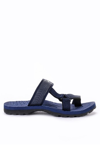CARVIL black and multi Carvil Sandal Sponge Man Spextra Black Navy 77FE1SH9B4358AGS_1