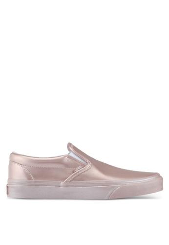 VANS pink Slip-On Metallic Side Wall VA142SH0SBRBMY_1