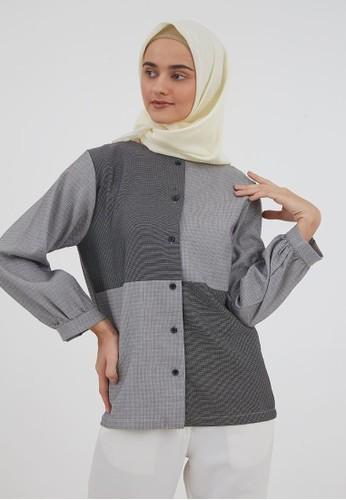 Jual Hijabenka Serena Top Grey Original Zalora Indonesia