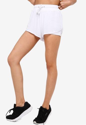 Cotton On Body white Double Layer Mesh Shorts 2848DAAE8E820EGS_1