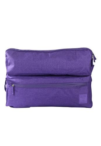 Travel Manila purple Laptop Organizer Bag 13 TR905AC03KVWPH_1