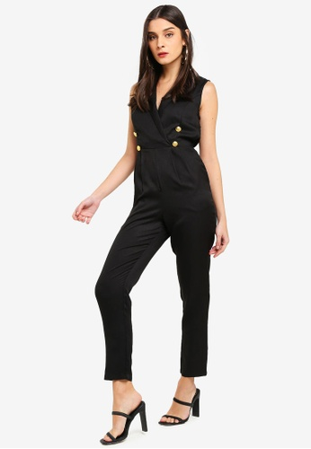 42a232402e3f Buy MISSGUIDED Military Button Sleeveless Jumpsuit Online on ZALORA  Singapore