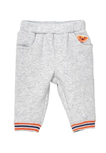 Du Pareil Au Même (DPAM) grey Orange Juice Pants DBB6BKA32729A8GS_1