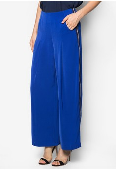 Collection Highwaist Grosgrain Maxi Pants