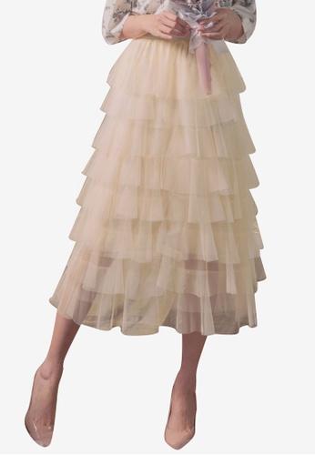 33872dcaced0 Buy Yoco Elastic Layered Skirt | ZALORA HK