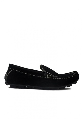 D-Island black D-Island Shoes Moccasine Slip On Lacoste Suede Black DI594SH83SVGID_1