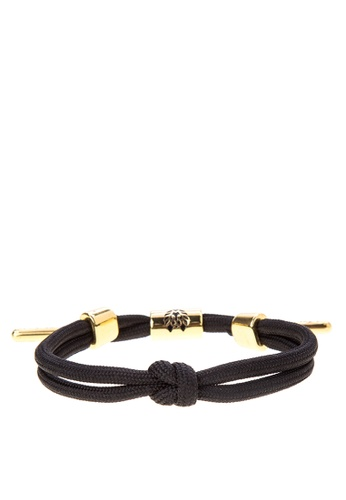 Rastaclat black Knotaclat Bracelet: Jet RA072AC0JYO8PH_1