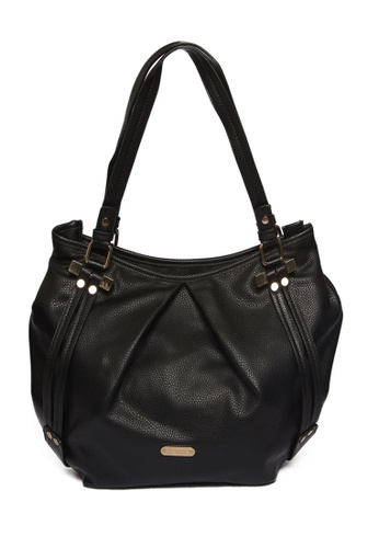 Beverly Hills Polo Club Black Georgina Series Tote Bag Be642ac75haiph 1