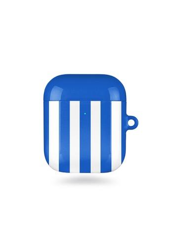 Polar Polar blue Blue Stripe AirPods Case (Glossy) 00C1FACB5A99C1GS_1