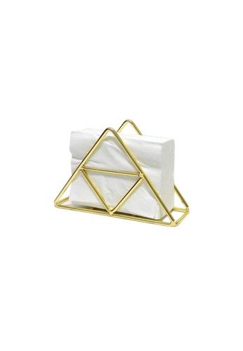 DILAS HOME gold Metallic Wire Napkin Holder (Gold) 92965HL7B80177GS_1