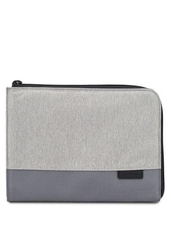 "CRUMPLER grey Pass Go 13"" Laptop Sleeve 05B93ACEF81ED0GS_1"