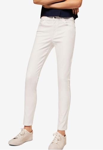 MANGO white Skinny Elektra Jeans C61BAAABE5802AGS_1