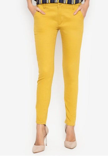 BAYO yellow Branda Pants BDE16AA1DE4D3DGS_1
