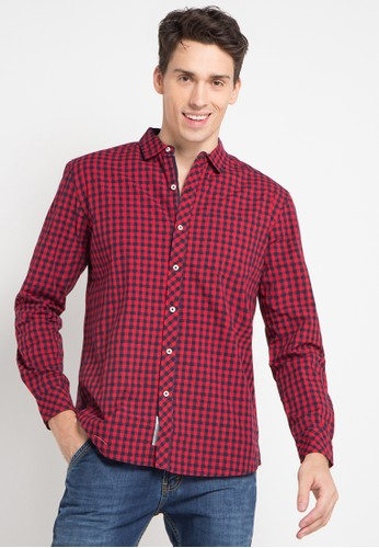 X8 red Tristin Shirt X8323AA0U44BID_1
