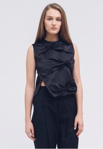 Eloisetowear black Jolliet Top in Black 6305DAA8CD5DC7GS_1