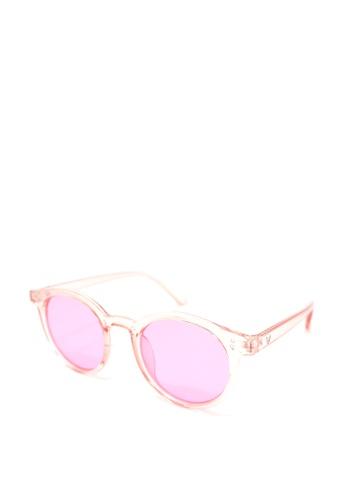 Peculiar and Odd pink Round Full Rim 5142 Classic Sunglassses F36C1GLC5A609EGS_1