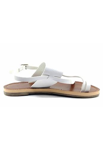 Lara 白色 沙灘涼鞋 F5B4ASH9A83AD5GS_1