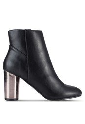 Dorothy Perkins black Black 'Ashe' Pu Heeled Boots DO816SH13YGOMY_1
