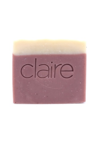 Claire Organics Calming Lavender Handmade Soap CL318BE52GZBMY_1