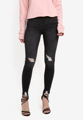 Miss Selfridge black Black Wash Lizzi Poppy Jeans 022E7AA68A9895GS_1