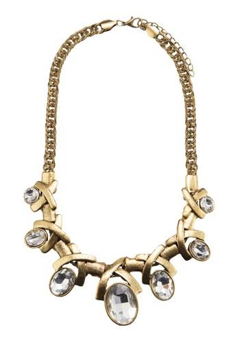 Antique Cross Gem Nesprit台灣門市ecklace, 飾品配件, 項鍊