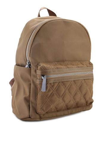 bbff60c113 Buy NUVEAU Quilted Nylon Backpack Online on ZALORA Singapore