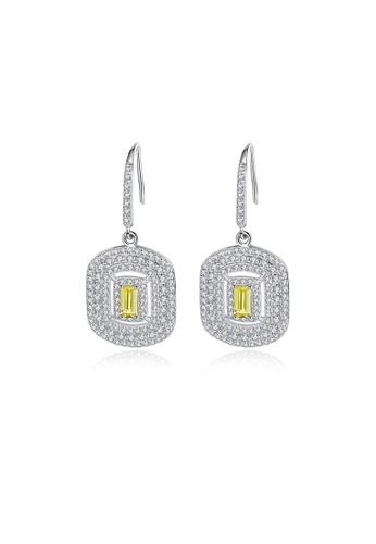 SUNRAIS High quality Silver S925 fashion earrings 27317AC2087AC6GS_1