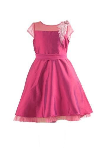 Pretty Girl Collection purple Tamie Purple Dress 28733KA32BF319GS_1