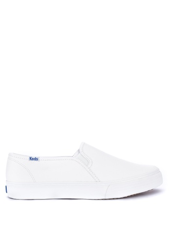 1f869e99bd8 Shop Keds Double Decker Leather Sneakers Online on ZALORA Philippines