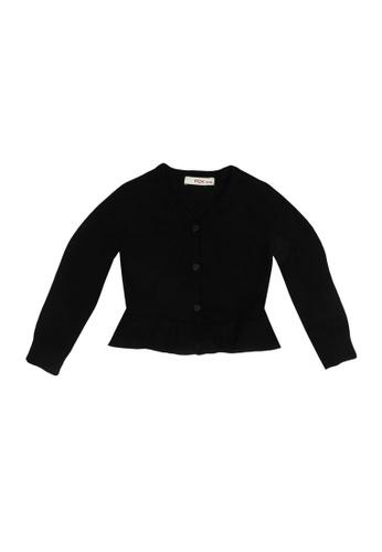 FOX Kids & Baby black Knit Cardigan B5086KA6F08577GS_1
