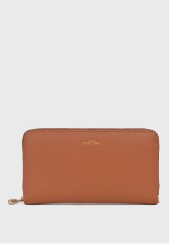 Tocco Toscano brown Aimee Long Wallet (Camel) 5C25CACE5CB398GS_1