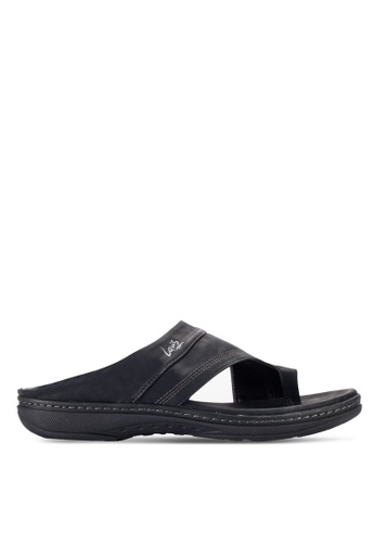 Louis Cuppers black Casual Sandals LO977SH19RDOMY_1