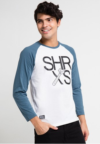 SHARKS white Long Sleeve T-Shirt SH473AA0UX3NID_1