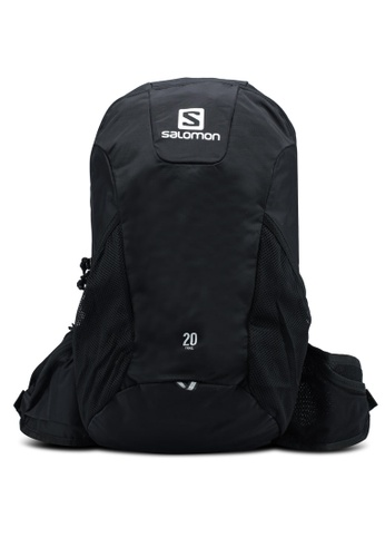 Salomon black Trail 20 Backpack 6EF85AC994E7AAGS_1