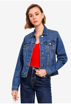 bbbf594e1d5 Dorothy Perkins blue Washed Indigo Denim Jacket DFDF6AAB9C0220GS 1 Dorothy  Perkins Washed Indigo Denim Jacket RM 189.00. Available in several sizes