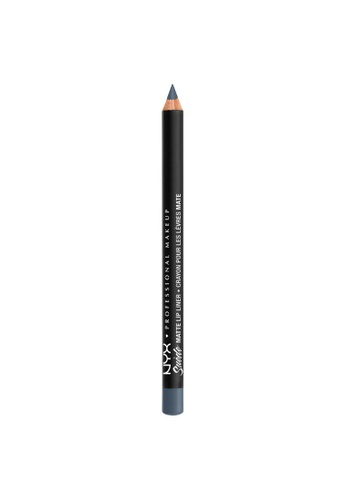 NYX Professional Makeup grey NYX Professional Makeup Suede Matte Lip Liner - SMLL 69 - SMUDGE ME 84F0ABEC64016AGS_1