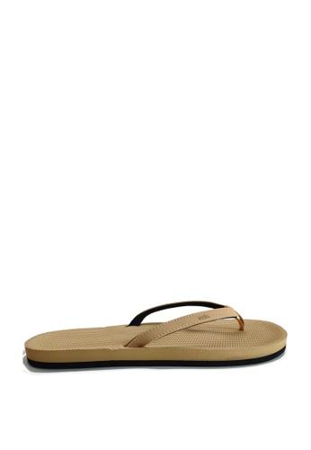 Indosole beige Indosole Women's ESSNTLS Flip Flops - Light Soil 02844SH7920410GS_1