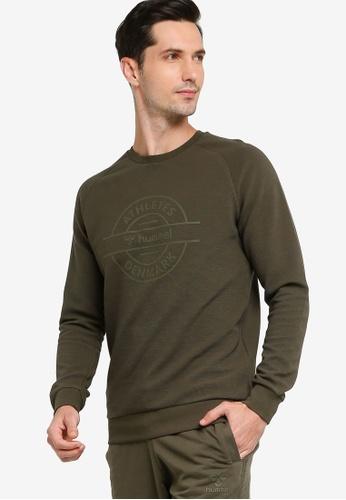 Hummel green Dare Sweatshirt 77D78AA7EC44ADGS_1