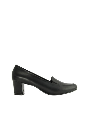 SEMBONIA black SEMBONIA Synthetic Leather Court Shoe (Black) 38B0FSHC849AA0GS_1