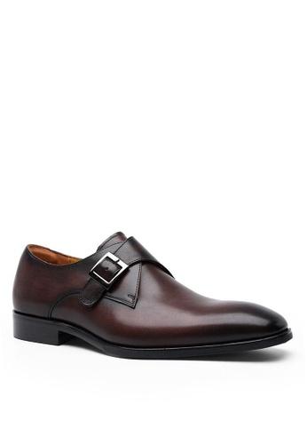 Twenty Eight Shoes Galliano復古真皮孟克皮鞋 DS892703 B9C7CSH45F013CGS_1