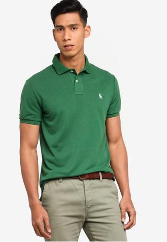 Polo Ralph Lauren green Short Sleeve Knit Basic Polo Shirt 78FA7AA6879585GS_1