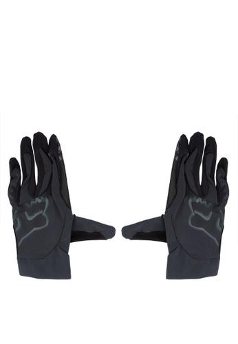 Fox Racing black Flexair Gloves FO276AC0JWH8PH_1