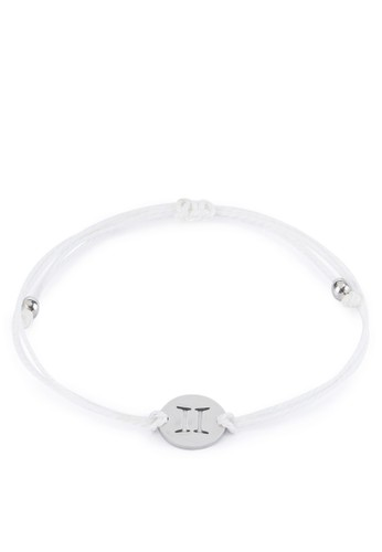 Tutu and Co white Zodiac Bracelet Gemini AA760ACECD2147GS_1