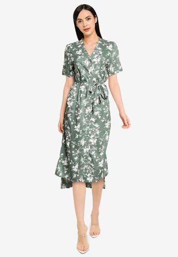 Vero Moda green Simoneit Shirt Dress A8619AADB4166AGS_1